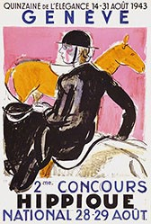 Barraud Maurice - 2me Concours Hippique National Genève
