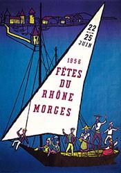 Bataillard Pierre - Fêtes du Rhône Morges