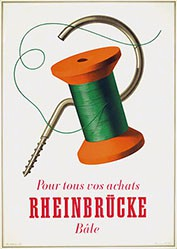 Birkhäuser Peter - Pour tous vos achats Rheinbrücke Bâle