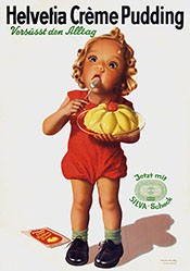 Rutz Viktor - Helvetia Crème Pudding