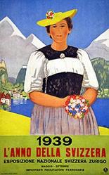 Cardinaux Emil - L'anno della Svizzera