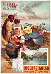 d'Alesi Hugo - L'Italie par le St. Gothard