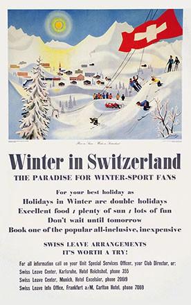 Gerbig Richard - Winter in Switzerland