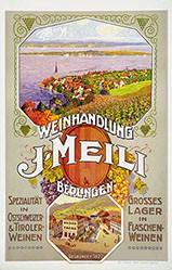 Anonym - Weinhandlung J. Meili