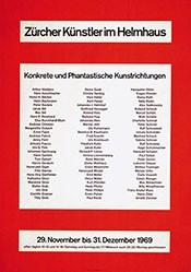 Bill Max - Zürcher Künstler im Helmhaus