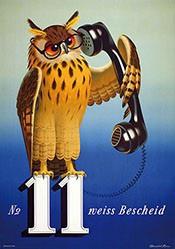 Brun Donald - No. 11 weiss Bescheid