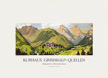 Anonym - Kurhaus Grimmialp-Quellen