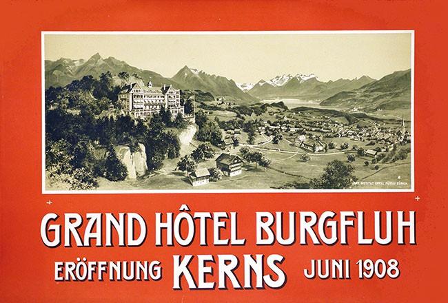 Anonym - Grand Hôtel Burgfluh