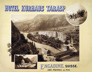 Monogramm AH - Hotel Kurhaus Tarasp