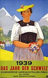 Cardinaux Emil - 1939 - Das Jahr der Schweiz