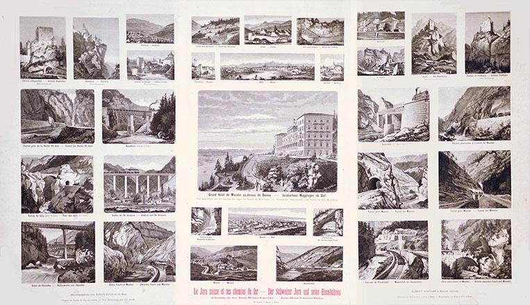 Jauslin Carl - Le Jura suisse et ses chemins de fer -