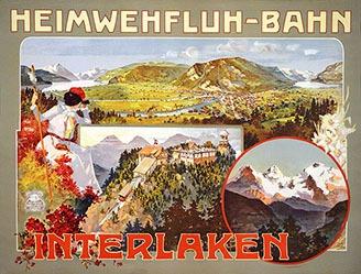 Monogramm M.H. - Heimwehfluh-Bahn