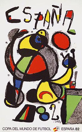 Miró Joan  - Copa del mundo de Fútbol