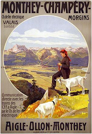Reckziegel Anton - Chemin de fer électrique Valais
