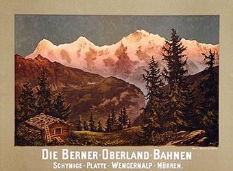 Monogramm Pol - Die Berner-Oberland-Bahnen