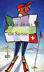 Monnerat Pierre - Qui dit ski,