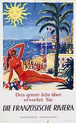 Baille Hervé  - Die französische Riviera