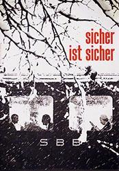 Auchli Herbert / Studer Walter - SBB - sicher ist sicher