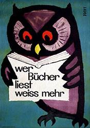 Piatti Celestino - Wer Bücher liest