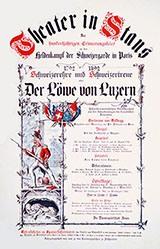 Vohinger Adalbert - Der Löwe von Luzern