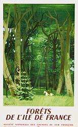 Chapelain-Midy Roger - SNCF - Forêts de l'Ile de France
