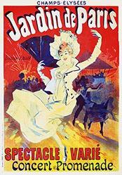 Chéret Jules - Jardin de Paris