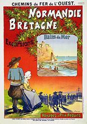 Fraipont Gustave - Normandie - Bretagne