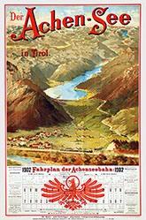 Mell Carl - Der Achen-See in Tyrol
