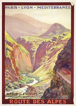 Péan René - Route des Alpes