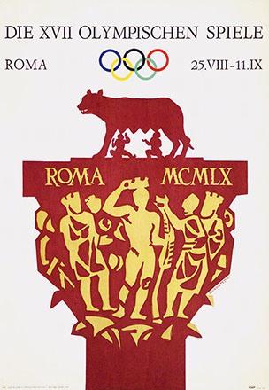 Testa Armando - Die XVII Olympischen Spiele