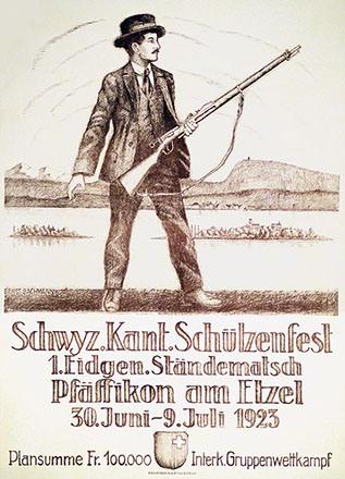 Bachmann Ernst - Schwyz. Kant. Schützenfest