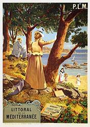 Tanconville (Henri Ganier) / Gray H. - Littoral de la Méditerranée