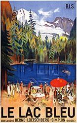 Baumberger Otto - Le Lac bleu