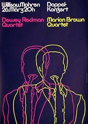 Troxler Niklaus - Dewey Redman Quartet