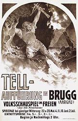 Anonym - Tell-Aufführung in Brugg
