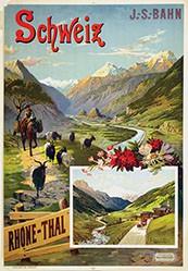 d'Alesi Hugo - Rhône-Thal - Schweiz