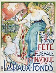 L'Eplattenier Charles - Fête fédérale gymnastique
