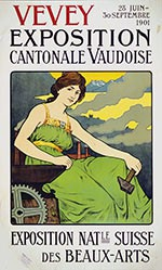Recordon Philippe Ernest - Exposition cantonale vaudoise
