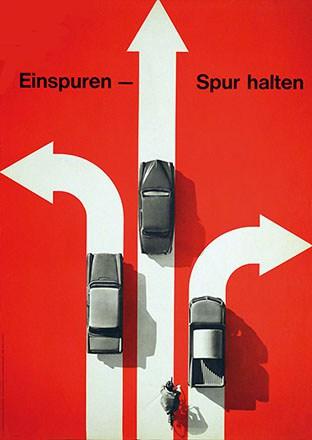 Hartmann Hans - Einspuren - Spur halten