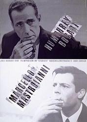 Schraivogel Ralph - Humphrey Bogart / Marcello Mastroianni