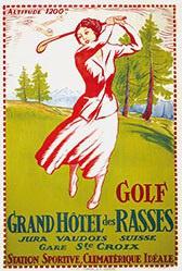 Monogramm E.S. - Golf
