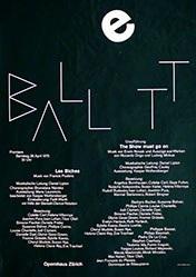 Müller-Brockmann + Co. - Ballett - Les biches
