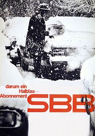 Auchli Herbert / Studer Walter - SBB - Halbtax-Abonnement