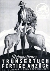 Moos Carl - Reinwollenes Trunsertuch
