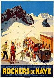 Ernst Otto - Rochers de Naye ob Montreux