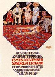Mangold Burkhard - Ausstellung Orient-Teppiche