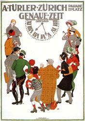 Mangold Burkhard - Türler Uhren