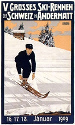 Pellegrini Carlo - V. Grosses Ski-Rennen der Schweiz