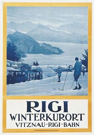 Anonym - Rigi Winterkurort