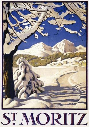 Colombi Plinio - St. Moritz